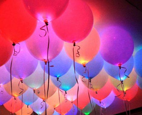 balões hélio led